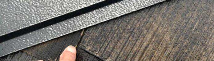 外壁塗装埼玉県新座市新堀より コロニアル屋根の高圧洗浄作業完了