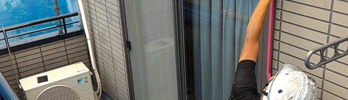 外壁塗装埼玉県桶川市北より シーリング養生作業