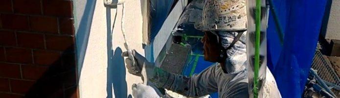 外壁塗装埼玉県上尾市西宮下より 外壁アステックリファイン塗り