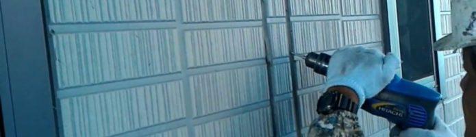 外壁塗装埼玉県吉見町下細谷より シーリング撤去作業