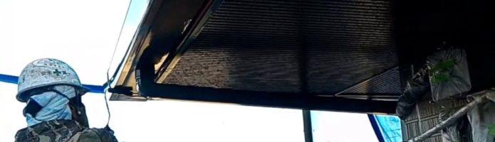 外壁塗装埼玉県吉見町下細谷より 雨樋塗装セラマックス1500Si-JY塗り