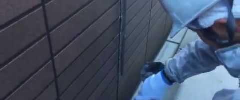 外壁塗装東京都東村山市野口町より シーリング撤去作業