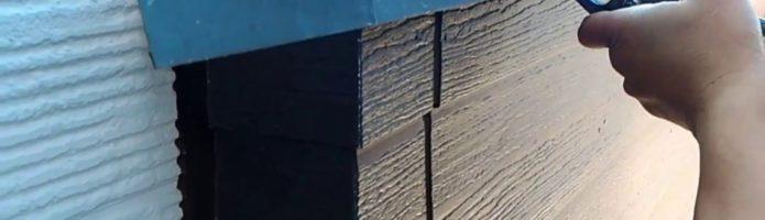 外壁塗装埼玉県富士見市諏訪より ベランダ笠木貫板交換作業