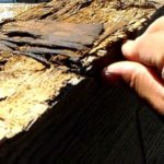 外壁塗装埼玉県富士見市諏訪より 笠木貫板の腐食状況②
