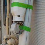 外壁塗装埼玉県富士見市諏訪より 各種器具、スリムダクトの取り外し作業
