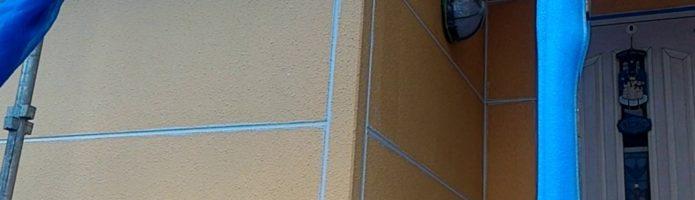 外壁塗装埼玉県狭山市北入曽より ALC壁シーリング作業完了