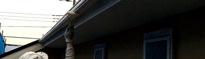 外壁塗装埼玉県白岡市新白岡より 雨樋塗装