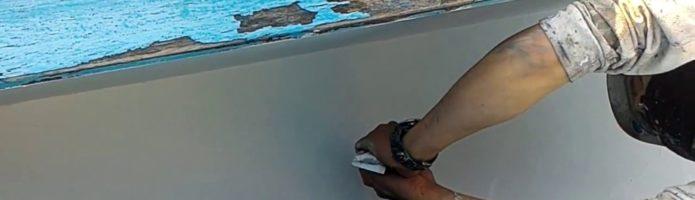 外壁塗装埼玉県川越市岸町より 下地処理作業