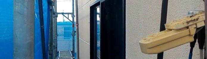 外壁塗装埼玉県入間市鍵山より ALC壁のシーリング作業