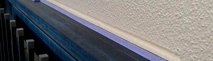 外壁塗装埼玉県入間市鍵山より ALC壁サッシ廻りの手直し作業