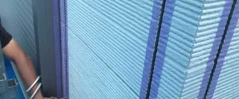 外壁塗装埼玉県富士見市諏訪より ボンドブレーカー貼り作業