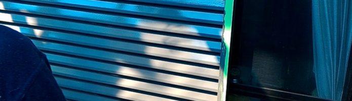外壁塗装東京都東久留米市小山よりby美光塗装 雨戸塗装作業