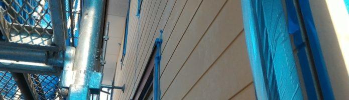川越市中台現場でシーリング作業を行いました
