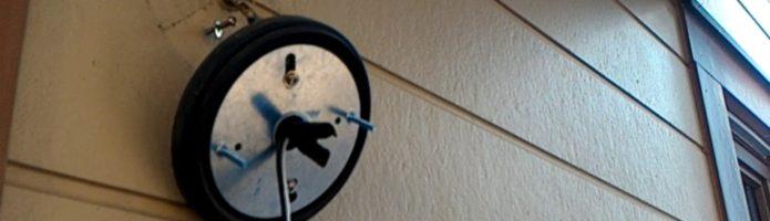 外壁塗装埼玉県川越市中台より 養生、配線・器具類の取り外し作業