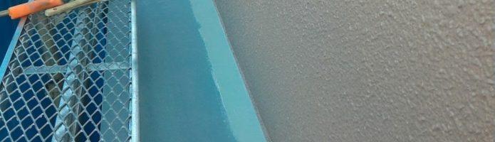 付帯部の塗装を行いました 「埼玉県新座市野寺現場より」