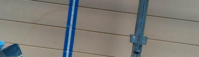 外壁塗装埼玉県川越市中台より シーリング押さえ作業