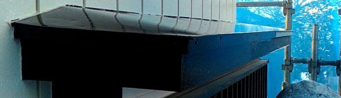 外壁塗装埼玉県朝霞市田島より 付帯部上塗り作業