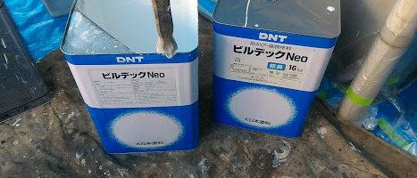 軒天塗装とトタンの錆止め作業 「埼玉県富士見市山室現場より」