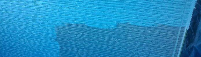 窯業系サイディングの上塗り作業 「埼玉県富士見市山室現場より」