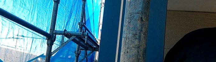 軒天をビルデックNEOで塗装しました 埼玉県富士見市山室より