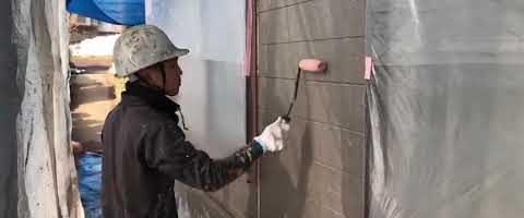 アステックエポパワーシーラー塗装 外壁塗装埼玉県富士見市山室現場より