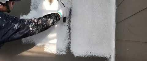 外壁の下塗りに微弾性フィラーを塗装しました 外壁塗装埼玉県富士見市山室現場より