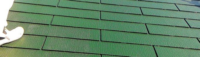 コロニアル屋根の仕上げ 外壁塗装埼玉富士見市山室現場より
