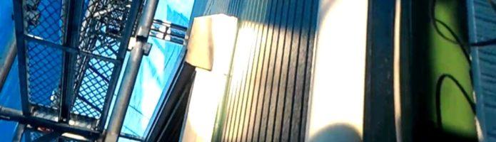 ニッペファインフッソで雨樋の上塗りをしました 外壁塗装埼玉県富士見市山室現場より