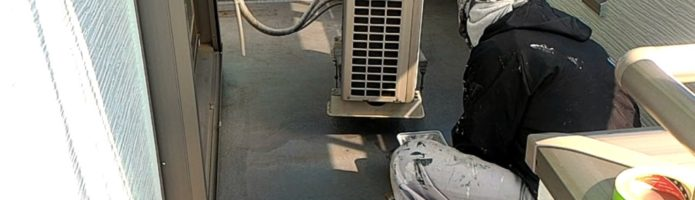 ベランダ床のプライマー塗装 外壁塗装埼玉県富士見市山室現場より