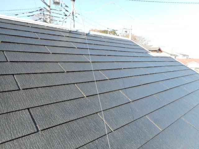 コロニアル屋根のシーラ-塗装