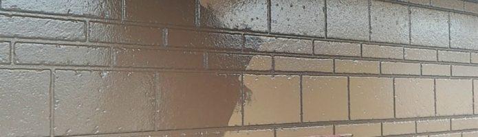 デザインサイディングの再現塗装 外壁塗装埼玉県ふじみ野市鶴ヶ丘現場より