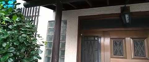 外壁塗装の高圧洗浄作業|外壁塗装埼玉県ふじみ野市西現場で塗替えリフォーム施工中