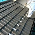 セメント瓦の高圧洗浄作業|外壁塗装埼玉県川越市仙波町現場で塗替えリフォーム施工中