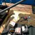 屋根の野地板を張り替えました 外壁塗装埼玉県川越市仙波町現場で塗替えリフォーム施工中