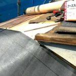 新規野地板にルーフィングを張りました 外壁塗装埼玉県川越市仙波町現場で塗替えリフォーム施工中