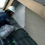 アステックエポパワーシーラーで塗装しました 外壁塗装埼玉県川越市仙波町現場で塗替えリフォーム施工中