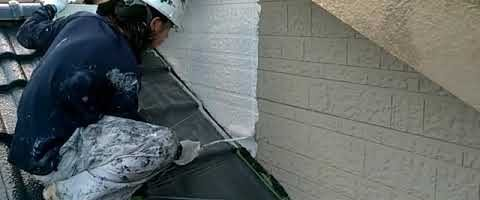 アステックエポパワーシーラーで塗装しました|外壁塗装埼玉県川越市仙波町現場で塗替えリフォーム施工中