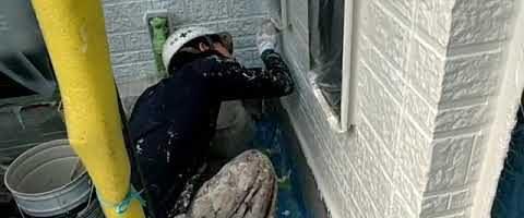 アステック超低汚染リファインで外壁を塗装しました|外壁塗装埼玉県川越市仙波町現場で塗替えリフォーム施工中