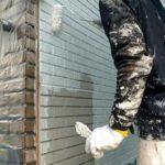 ALC壁を微弾性フィラーで下塗りしました|外壁塗装埼玉県川越市並木西町現場で塗替えリフォーム施工中