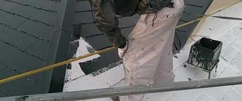 遮熱無機塗料でコロニアル屋根を塗装しました|外壁塗装埼玉県川越市並木西町現場で塗替えリフォーム施工中