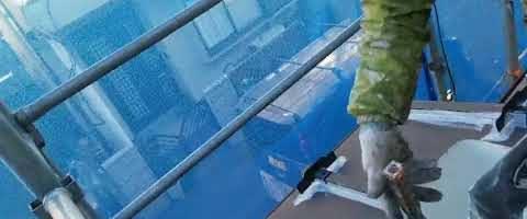 キクスイSPパワーサーモプライマー塗装|外壁塗装埼玉県入間郡三芳町藤久保現場で塗替えリフォーム施工中