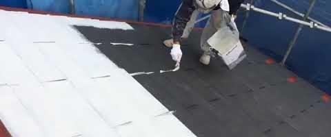 キクスイSPパワーサーモシーラーを塗りました|外壁塗装埼玉県富士見市鶴馬現場で塗替えリフォーム施工中