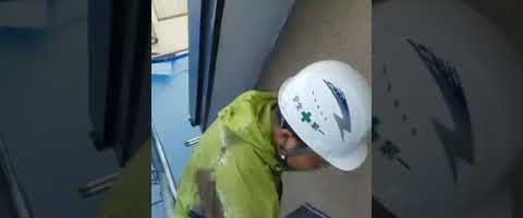 軒天の上塗りをしました|外壁塗装埼玉県入間郡三芳町藤久保現場で塗替えリフォーム施工中