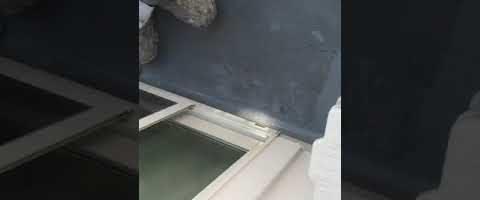 ベランダ床塗装|外壁塗装埼玉県入間郡三芳町藤久保現場で塗替えリフォーム施工中