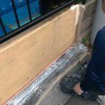 アイカジョリパットフレッシュを塗装しました|外壁塗装埼玉県川越市岸町現場で塗替えリフォーム施工中