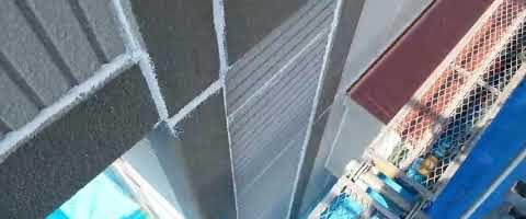 ALC壁のシーリングが完了しました|外壁塗装埼玉県川越市岸町現場で塗替えリフォーム施工中