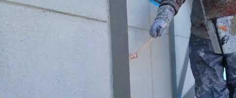 ハマタイトno.30プライマー塗布|外壁塗装埼玉県川越市岸町現場で塗替えリフォーム施工中