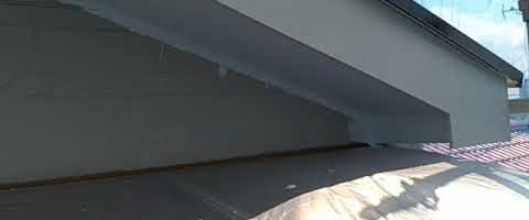 ニッペファインフッソで破風板を塗装しました|外壁塗装埼玉県川越市並木新町現場で塗替えリフォーム施工中