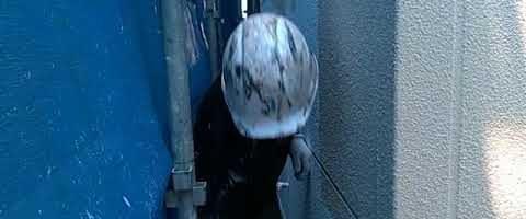 ダイヤスーパーセランFXでALC壁を塗装しました|外壁塗装埼玉県川越市旭町現場で塗替えリフォーム施工中です