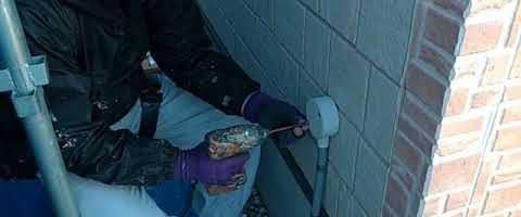 配線類の取り外し作業|外壁塗装埼玉県川越市南田島現場で塗替えリフォーム施工中です